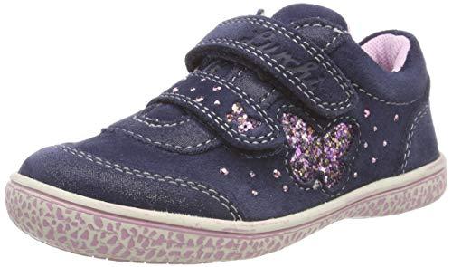 Lurchi Mädchen TANY Sneaker, Blau (Navy 22), 26 EU