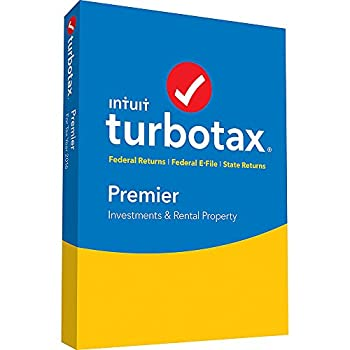 2016 Intuit Turbotax Premier 2016 [OLD VERSION] Federal and State Fed Efile PC/MAC Disc- Old Version For 2016 Taxes Only
