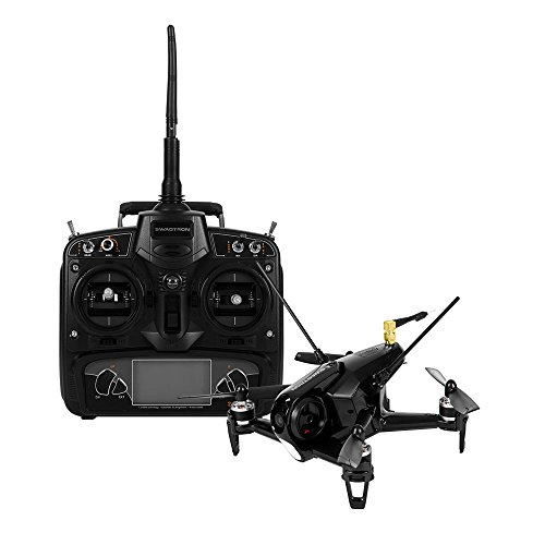SWAGTRON SwagDrone 150-UP FPV Racing Drone with HD Camera RTF Ready to Fly Quadcopter High Speed 5.8Ghz Carbon Fiber