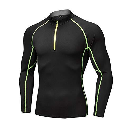 Hombre Jersey MTB de Ciclismo con Mangas Largas Maillot Camiseta Interior Ciclista...