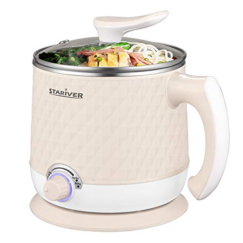 Stariver Electric Hot Pot, 1.8L Electric Cooker $19.49 (amazon.com)
