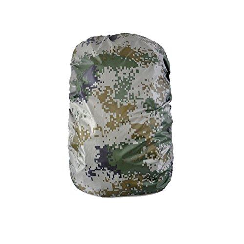 [Camouflage] Camping / Sac à dos randonnée imperméable à, taille M, 45-60L