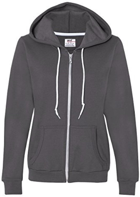 Anvil Women's Full Zip Hooded Fleece by Anvil