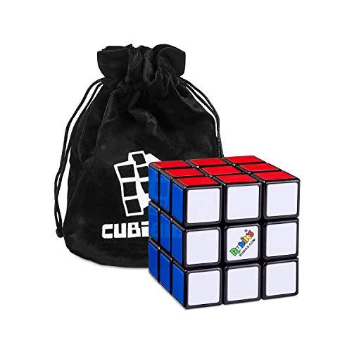 Rubik's Cube 3x3 – Der Original 3x3x3 Zauberwürfel Klassiker Knobelspiel mit Beutel