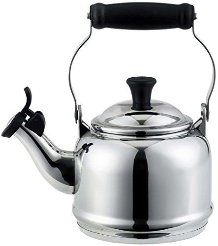 Le Creuset Stainless Steel Demi Tea Kettle, 1.25 qt.