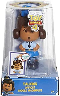 Pixar Toy Story 4 - Talking Officer Giggle McDimples - Re-Create The Movie Magic with This Small but Spirited Law Inforcement Officer!