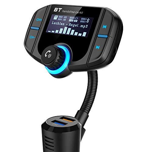 Trasmettitore fm Bluetooth da Auto Quick Charge...