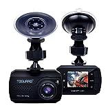 TOGUARD Mini Telecamera per Auto Dash Cam Blackbox Full HD 1080P, DASHCAM Grandangolo, Capteur-G, Registrazione Continua - Scheda...