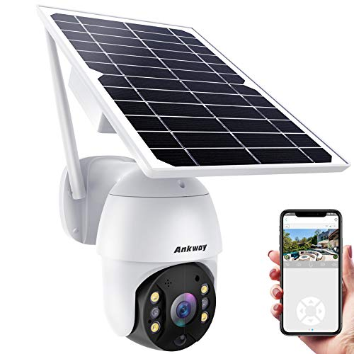 Ankway Solar Security Camera