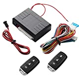 Easyeeasy Actuador de cerradura de puerta eléctrica para automóvil Universal 12v Motor Control remoto de automóvil Sistema de entrada sin llave de bloqueo central