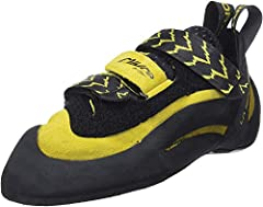 Ideal Terrain: overhanging sport routes, bouldering, gym climbing and technical face climbing Upper: Leather; Lining: Dentex, unlined underfoot Midsole: P3® with 1.1mm LaspoFlex; Sole: 4mm Vibram® XS Edge Last: PD 75; Fit: Performance w/ High Asymmet...