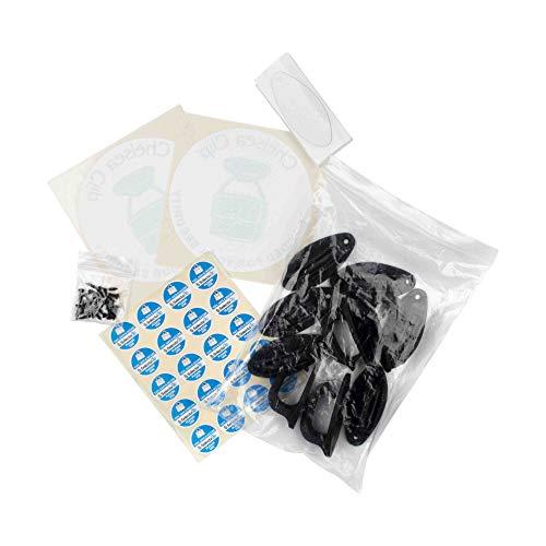 Chelsea Clip, de originele handtasclip om uw tas en items veilig vast te houden (pak van 10)