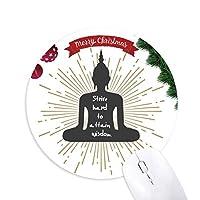 アプローチ知識獲得努力 クリスマスツリーの滑り止めゴム形のマウスパッド