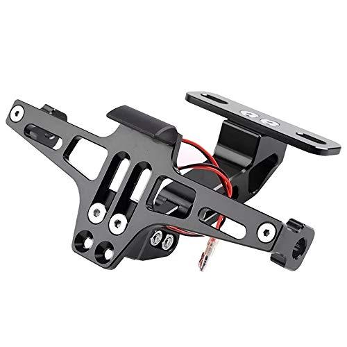 RongDuosi Auto onderdelen remaccessoires Elektrische Motorfiets Grootte Verplaatsing MSX Verstelbare License Plaat Frame Buigen Beam CNC Aluminium Vliegtuigen License Plaat Frame Universele Accessoires