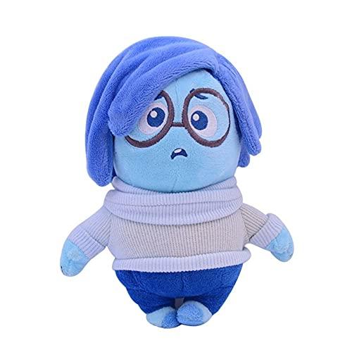 Inside out peluche giocattoli film tristezza laurea gioia disgusto rabbia morbida bambola farcita regali per bambini laurea regalo da 17 a 20 cm