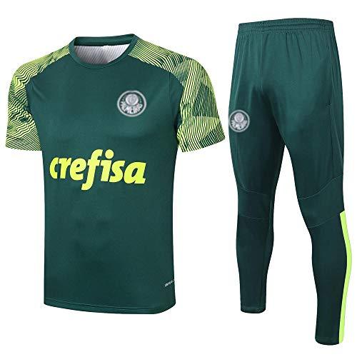 PPETt Herren Fußball Trikot T-Shirt Trainingsanzug, Klassische Fußball City Sportswear Top Anzug Club Team Spielanzug HD-1134-EIN_L.