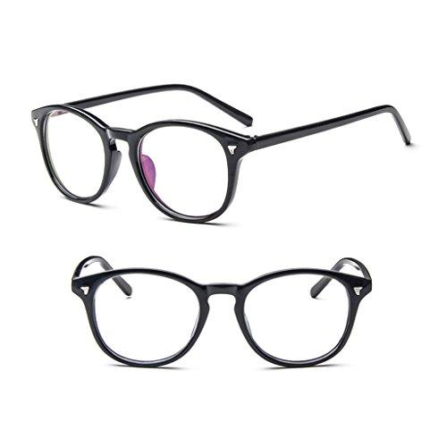 WT-YOGUET Vintage lente transparente gafas marco retro hombres mujeres unisex gafas óptica 2017