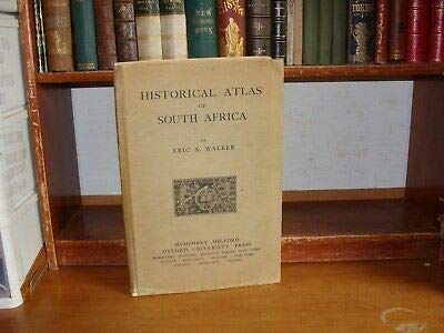 Old HISTORICAL ATLAS OF SOUTH AFRICA Book COLOR MAPS CAPE COLONY HISTORY UNION