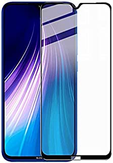 اسكرين واقي حماية الشاشة 9D لهاتف شاومي ريدمي نوت 8 (Redmi Note 8 ) ، اسود