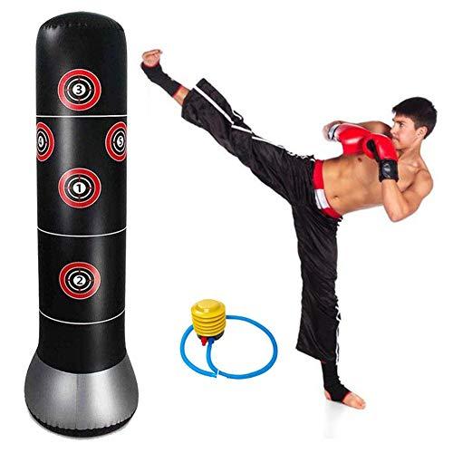 Zware bokszakken, zware bokszak kick met luchtpomp voor kinderen volwassenen 160cm