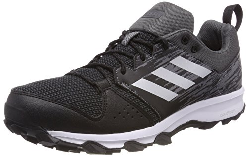 adidas Galaxy Trail, Zapatillas de Trail Running para Hombre, Negro (Core Black/Matte Silver/Carbon), 42 EU
