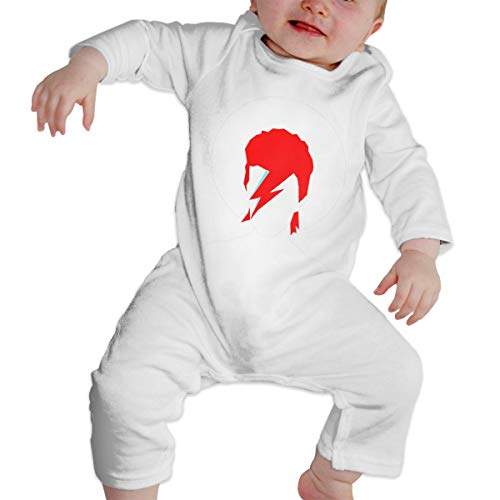 Happiness Station Bowie Forever Baby Playsuit Long Sleeve Outfits Infant Boys Girls Rompers 0-24 Months Babies Jumpsuit Clothes Kids Playsuits Toddlers Outfits