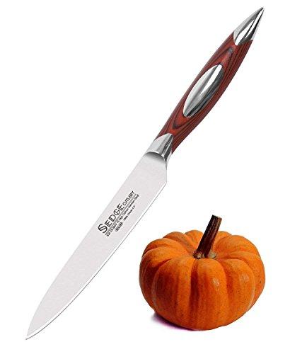 Sedge Chef/Santoku/Utility/Paring Kitchen Knife - Japanese 67 Layers VG10 Damascus Stainless Steel - Ergonomic Mosaic G10 Handle with Exquisite Gift Box (SEG-005-ca)