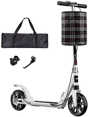 Patín Eléctrico Kick adultos scooter con ruedas grandes y el disco de...
