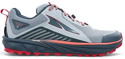 ALTRA Women's AL0A4VRB TIMP 3 Trail Running Shoe, Gray/Pink – 9.5 M US