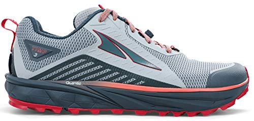 ALTRA Women's AL0A4VRB TIMP 3 Trail Running Shoe, Gray/Pink...