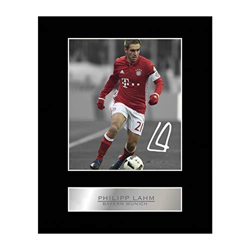 Signiertes Foto von Philipp Lahm, FC Bayern München
