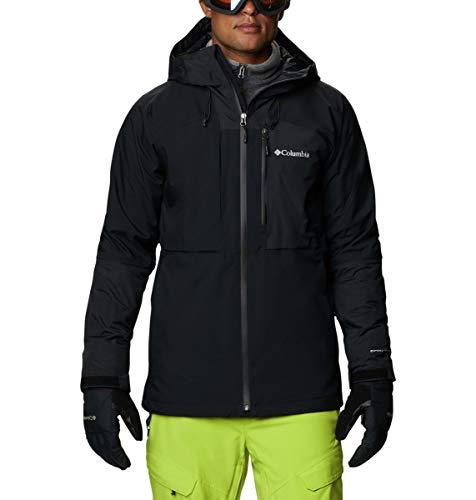 Columbia Men's Banked Run Jacket, Black, Large