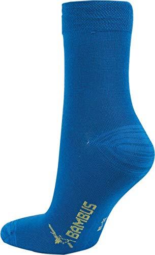 "socksPur BAMBUS KIDS STRUMPF ""BOY"" 3er-PACK (27/30, marine, jeans, dunkelblau)"