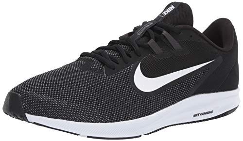 Nike Downshifter 9, Zapatillas de Correr Hombre, Noir Black White Anthracite Cool Grey 002, 43 EU