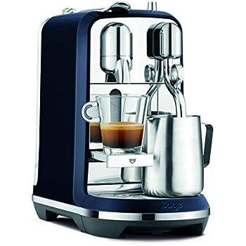 Sage Appliances the Creatista Plus Máquina de cápsulas Nespresso, Color azul: Amazon.es: Hogar