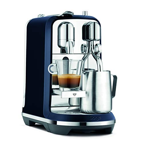 Sage Appliances The Creatista Plus Macchina per Capsule Nespresso, Damson Blue