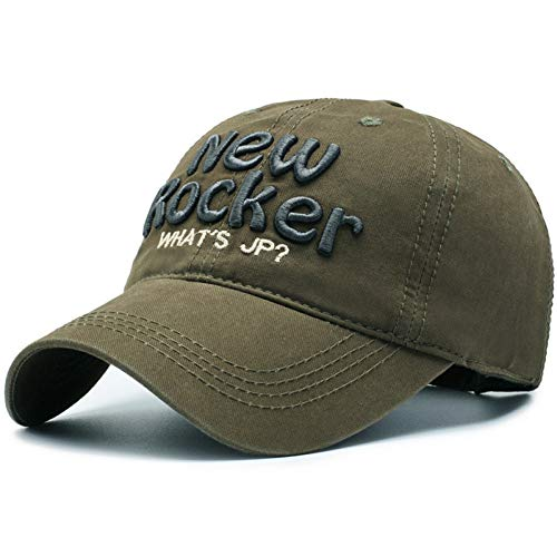 JWLJG-ZZ Gorra de Beisbol Gorra De Béisbol De Algodón Hip Hop para Hombres Mujeres Snapback Hat Gorras Fitted Trucker Cap