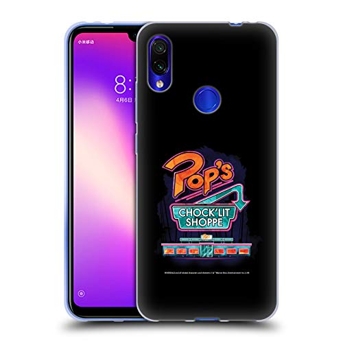 Official Riverdale Pop'S Art Soft Gel Case Compatible for Xiaomi Redmi Note 7/7 Pro
