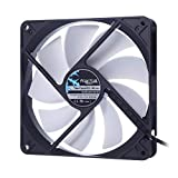 Fractal Design Silent Series R3 140mm Carcasa del Ordenador Ventilador - Ventilador de PC (Carcasa del Ordenador, Ventilador, 14 cm, 1000 RPM, 21,6 dB, 56,1 cfm)