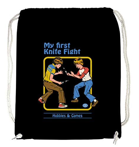 Certified Freak Knife Fight Gymsack Black