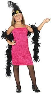 Atosa-39386 Disfraz Charleston, Color Rosa, 3 a 4 años (