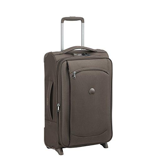 DELSEY Paris Montmartre Air Suitcase, 55 cm, 47 liters, Grey (Iguane)