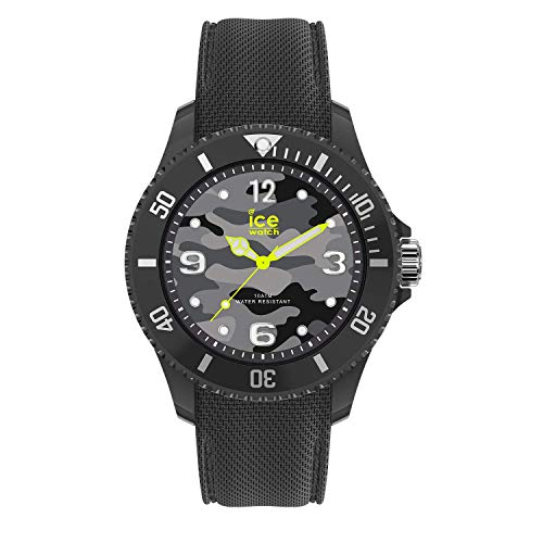 Ice-Watch - Bastogne Anthracite - Men's (Unisex) wristwatch with silicon strap - 016292 (Medium)