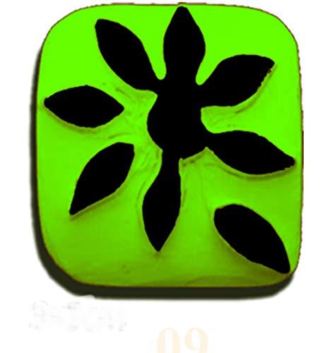 Magic Tattoo Pierre à Tatouage Temporaire - Fleur pétale (Pierre seule sans recharge 20 ml et encreur disponibles sur amazon magic tattoo)