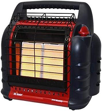 Mr. Heater F274800 MH18B, Portable Propane Heater,Red,Regular: image