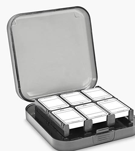 Speedlink Multi Game Case für Nintendo Switch und Nintendo Switch Lite - transparente Aufbewahrungsbox für Spiele - Grau/transparent