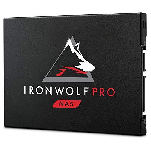 Seagate IronWolf Pro 125 SSD 3.84 TB, interne SATA SSD für NAS, 2.5 Zoll bis zu 545 Mb/s, schwarz, bulk, inkl. 3 Jahre Rescue Service, Modellnr.: ZA3840NX1A001