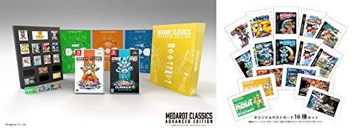 メダロット クラシックス プラス アドバンスエディション -Switch (【Amazon.co.jp限定】歴代ゲームパッケージデザイン ポストカード16種セット 同梱)