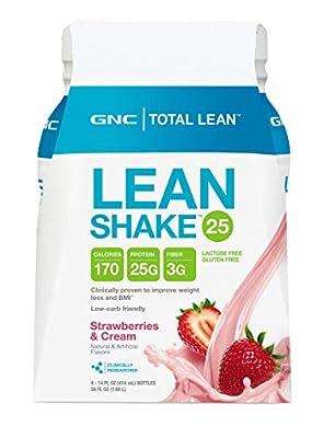 GNC Total Lean Lean Shake 4 pks