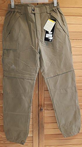 VAUDE Aosta Olive Pantalon Zip Taille 46